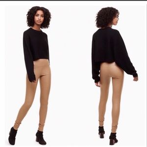 🔥SALE🔥WILFRED HIGH WAISTED FAUX LEATHER DARIA